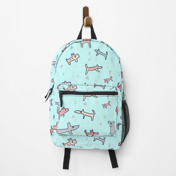 Doggy Dog Blue Backpack