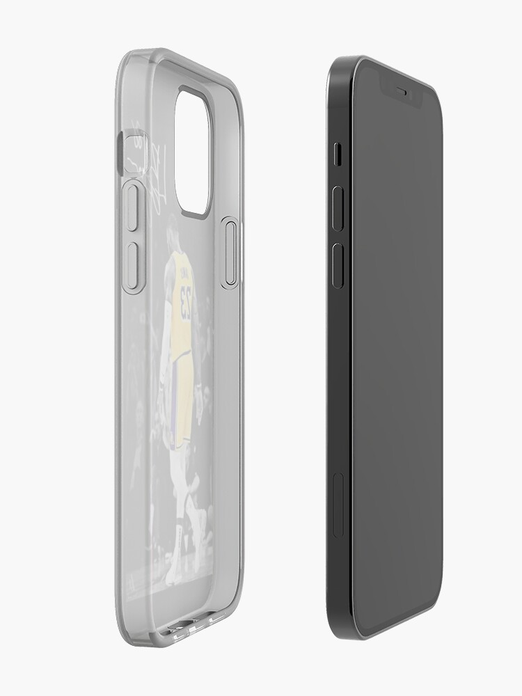 Alternate view of lebron james iPhone Case & Cover