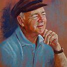 Portrait of Ted by Lynda Robinson