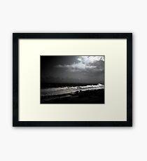 Puerto Rico Shoreline Framed Print