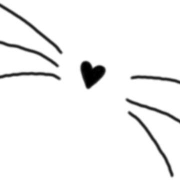 Heart Whiskers by LightfulFoxtrot