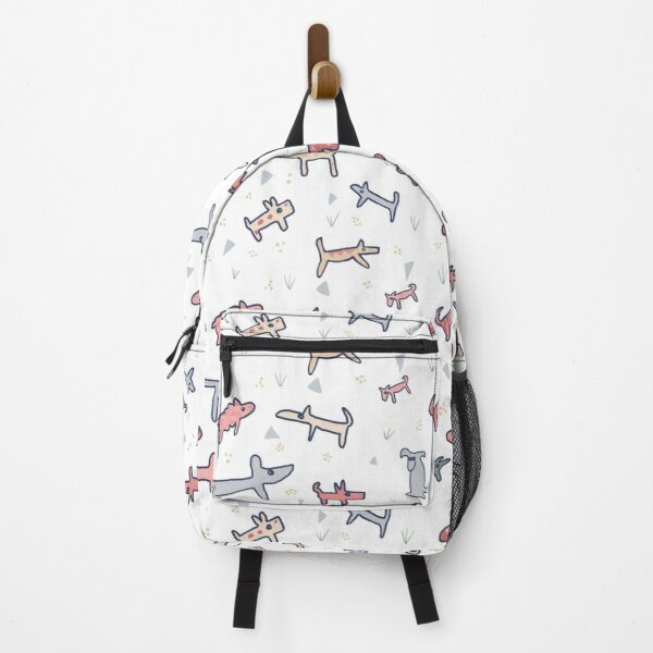 Doggy Dogs in the Park, playing in a pattern. Backpack