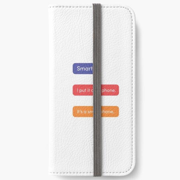 TikTok Smartphone Pun, Multicolored iPhone Wallet