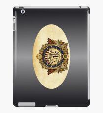 VINTAGE BEER BADGE iPad Case/Skin