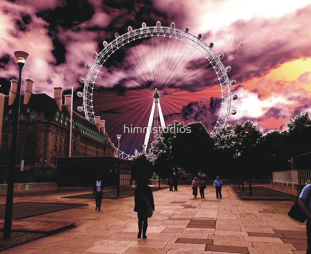 The London Eye by himmstudios