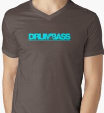 Drum & Bass Mens V-Neck T-Shirt