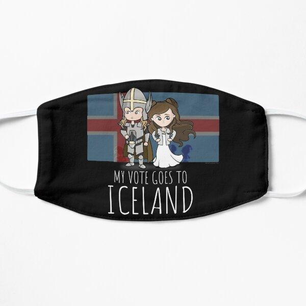 Lars & Sigrit. I Vote for Iceland Mask
