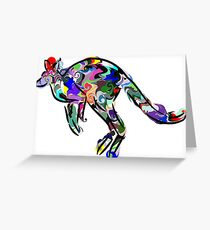 Kangaroo 2 Greeting Card
