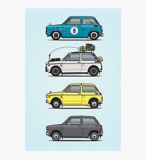 Stack of Honda N360 N600 Kei Cars Photographic Print