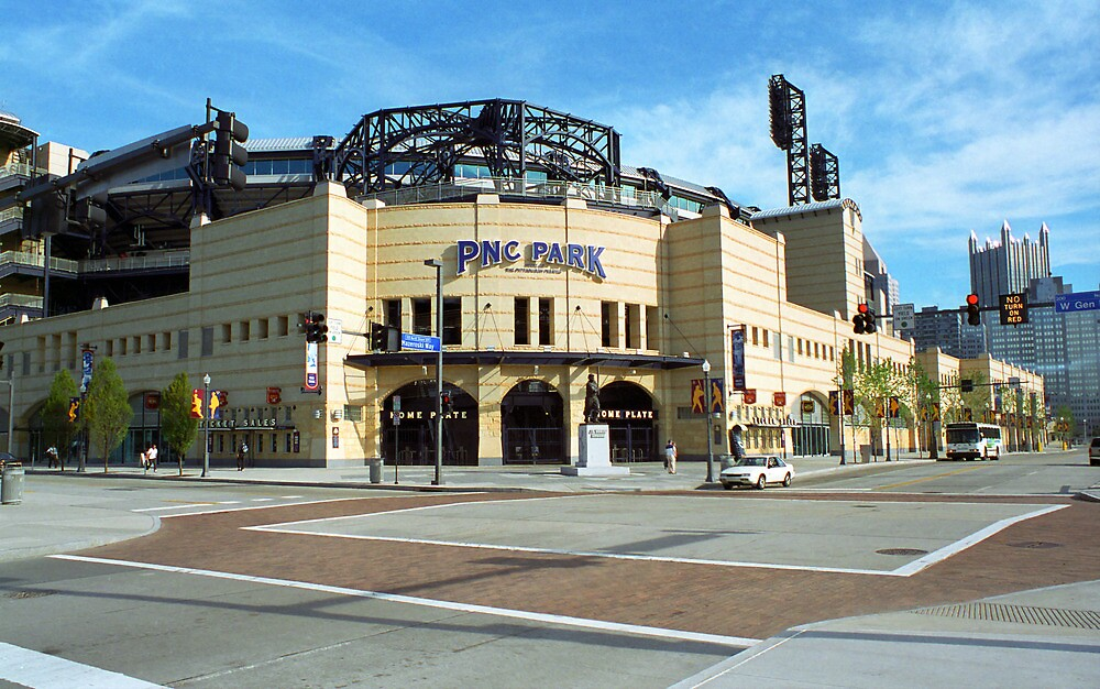 PNC Park - Pittsburgh Pirates by Frank Romeo