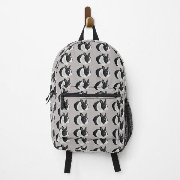 Dutch Black and White Rabbit Backpack
