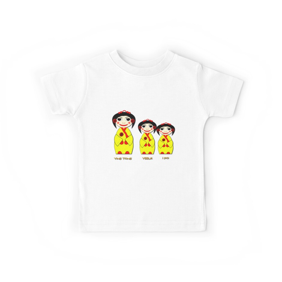 Ying Tong, Yiddle, iPo T-shirt by Dennis Melling
