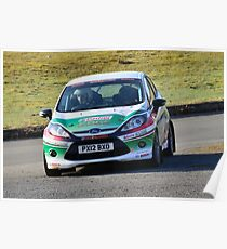 Race2Recovery Ford Fiesta Poster