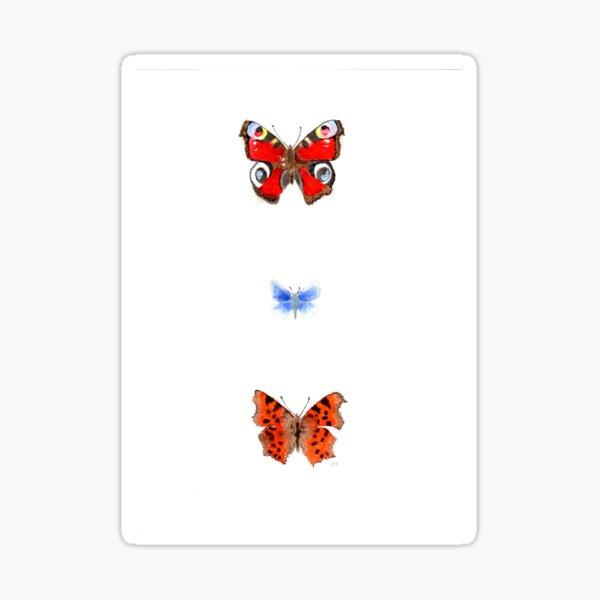 butterflies 1 Sticker