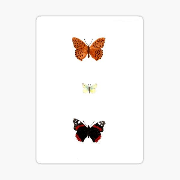 butterflies 2 Sticker