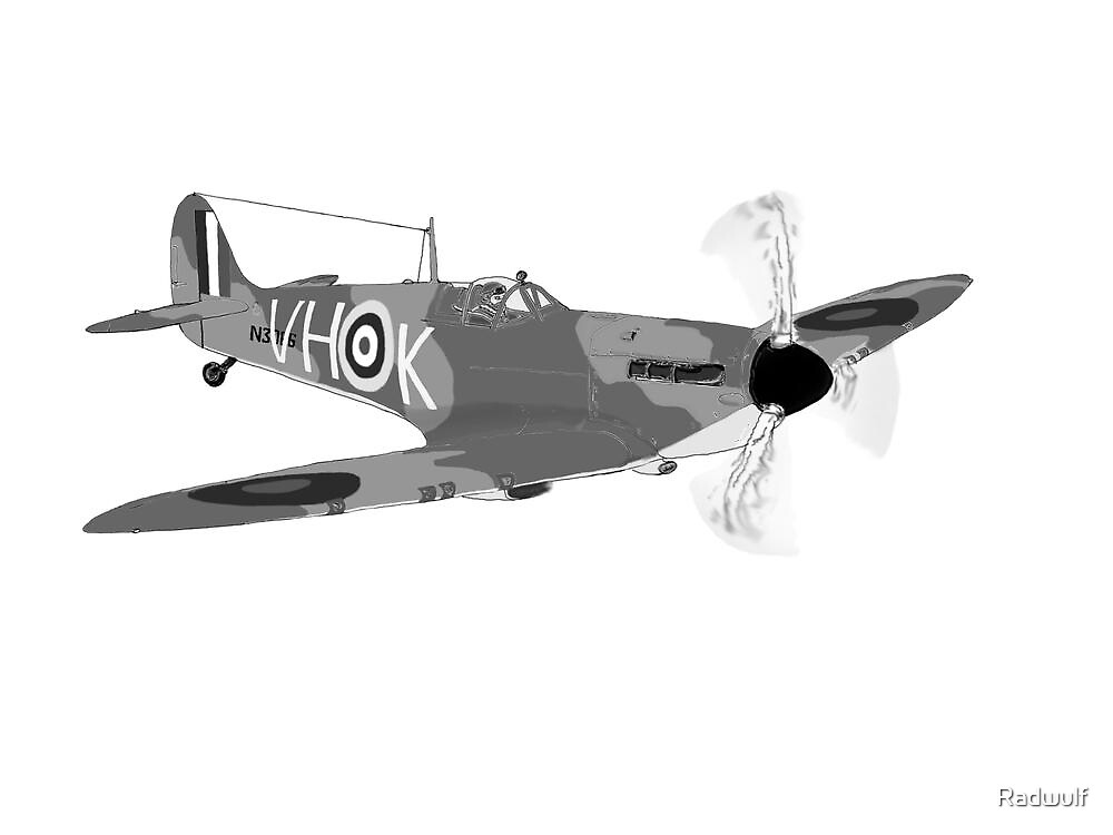 Spitfire Mk1a by Radwulf