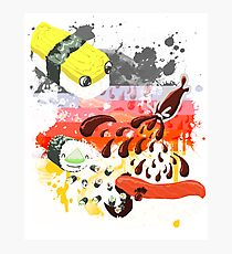 Sushi explosion Photographic Print