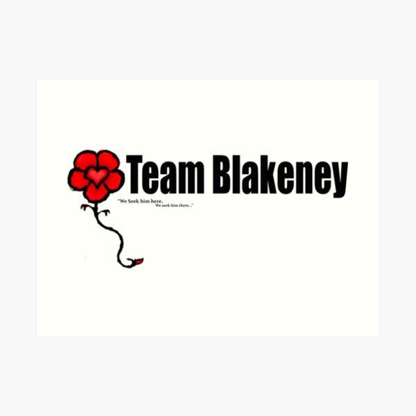 Team Blakeney Art Print