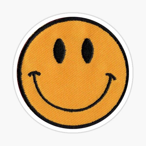 Smiley Patch Sticker