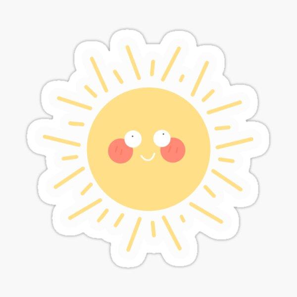 Crazy Sun Sticker