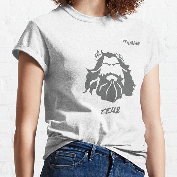 Big Bearded Badass Zeus Classic T-Shirt