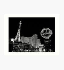 The Paris Hotel, Las Vegas Art Print