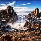 Coastal rocks by Adriano Carrideo