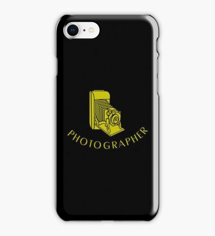 Photographer VRS2 iPhone Case/Skin