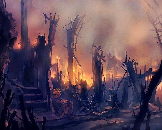 The Pyromaniac by banafria