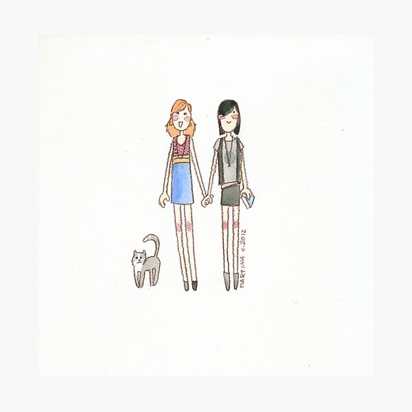 Lizzie Bennet Diaries - Kitty, Lydia, Mary Photographic Print