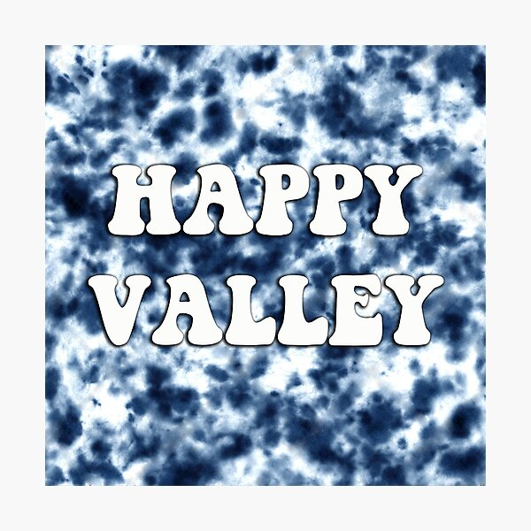 Happy Valley Tie Dye Photographic Print