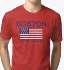 BOSTON MSAEACHUBAETS Tri-blend T-Shirt