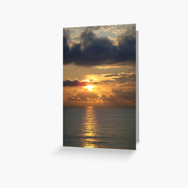 Bethany Beach Sunrise Greeting Card
