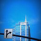 Blue Sky Blue Bldg by JimDukes