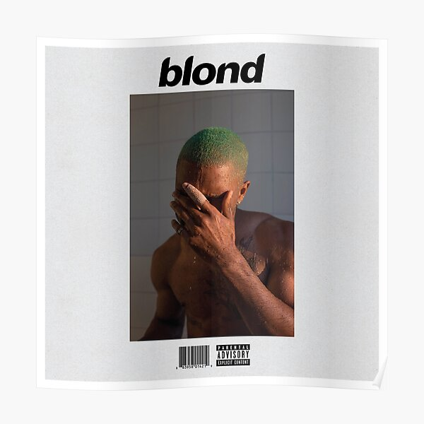 blond franc Poster