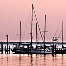 Sailboat at Perdido by Bill Gamblin