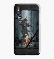 Samurai and Geisha iPhone Case