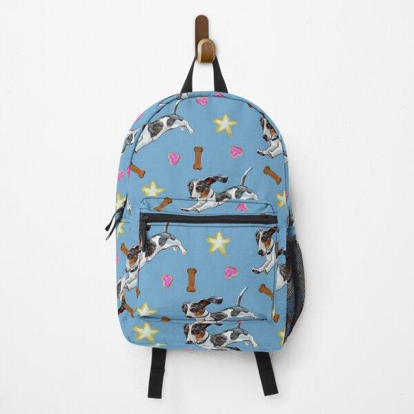 Super Cute Dachshund Pattern Backpack