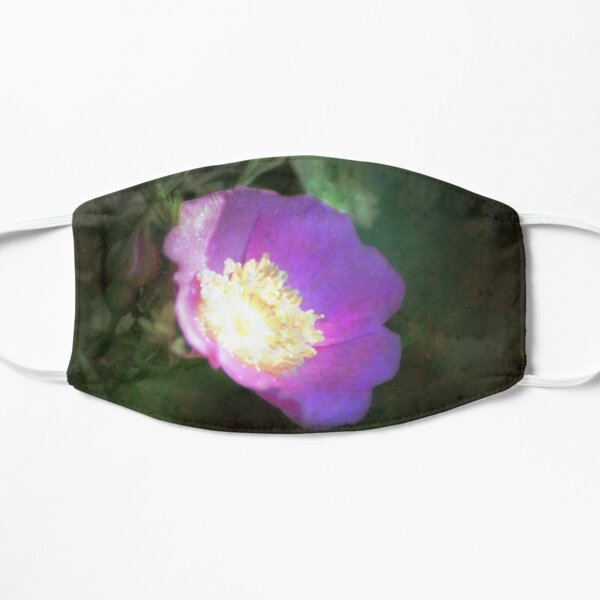 glowing old fashioned rose elegance Mask
