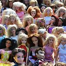 Dolls at the flea market by Kate Farkas