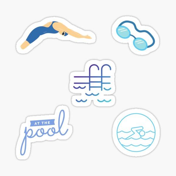 Swimmer Variety Pack Sticker