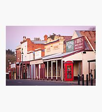 Chiltern Streetcape Photographic Print