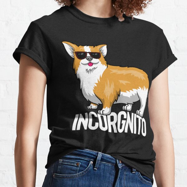 Incorgnito - Incognito Corgi Classic T-Shirt