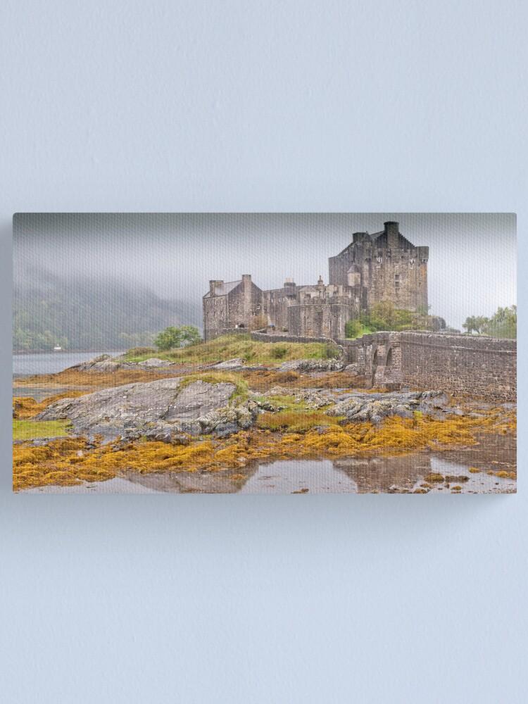 Alternate view of Eilean Donan Castle Canvas Print