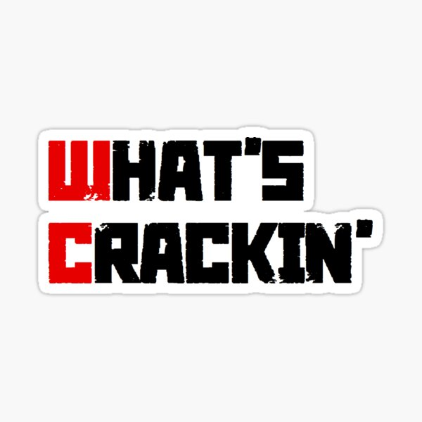 Russkeey Designs (What's Crackin') Sticker