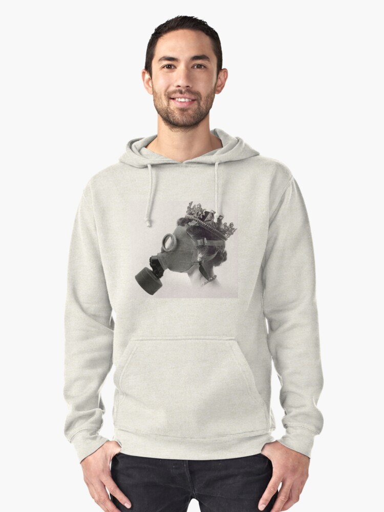 Royal Nose Pullover Hoodie Front