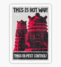 Planetary Pest Control Sticker