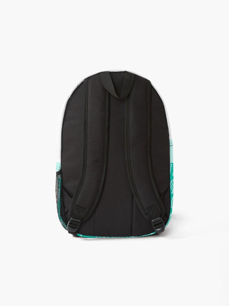 Alternate view of Nook Leaf Blue Backpack