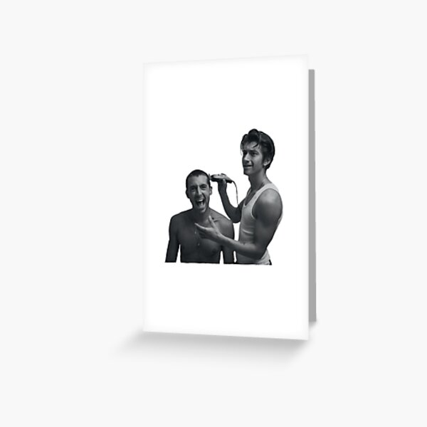 The Last Shadow Puppets Transparent  Greeting Card