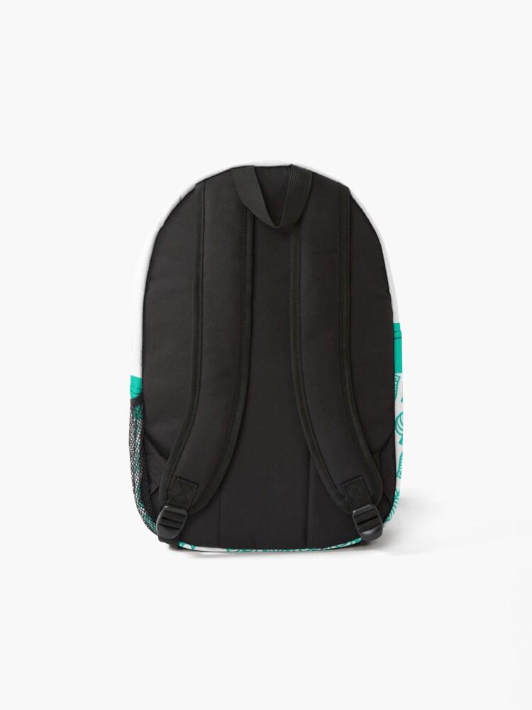 Alternate view of Nook Leaf White Backpack